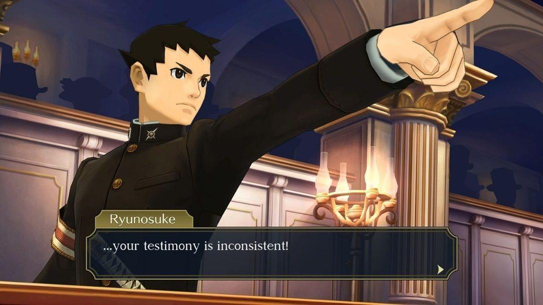 The Great Ace Attorney Chronicles arriva su PS4 il 27 luglio
