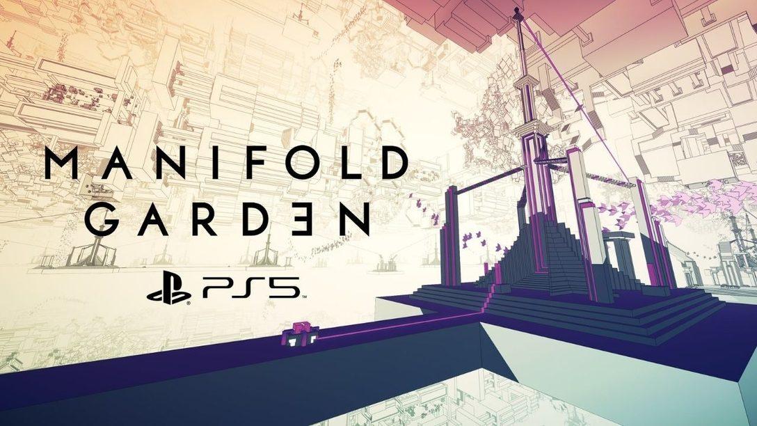 Il 20 maggio Manifold Garden ci propone l'aggiornamento gratuito per PS5 e la versione in confezione