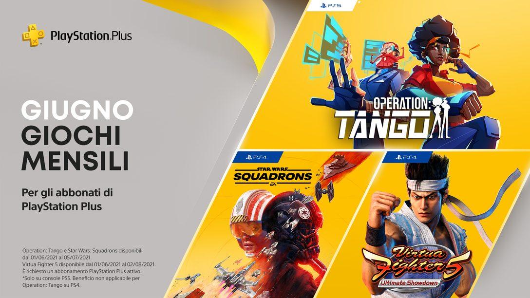 Giochi PlayStation Plus di giugno: Operation: Tango, Virtua Fighter 5: Ultimate Showdown, Star Wars Squadrons