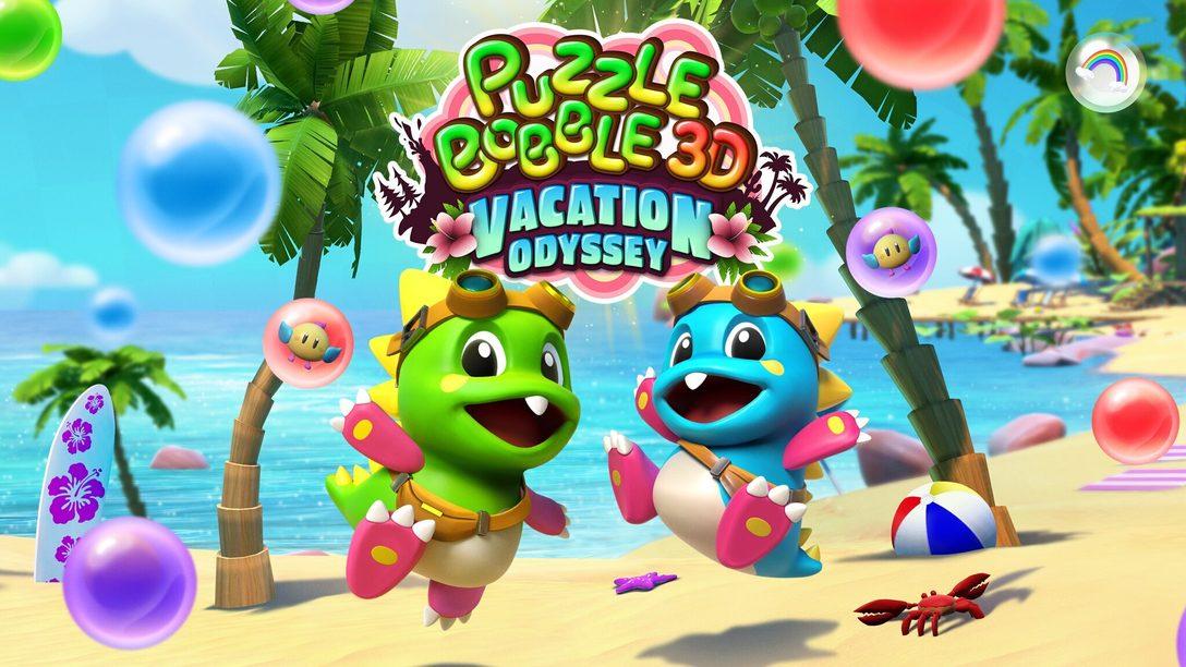 Puzzle Bobble 3D: Vacation Odyssey aggiungerà una nuova dimensione alle bolle in PS VR, PS4 e PS5 nei prossimi mesi dell'anno