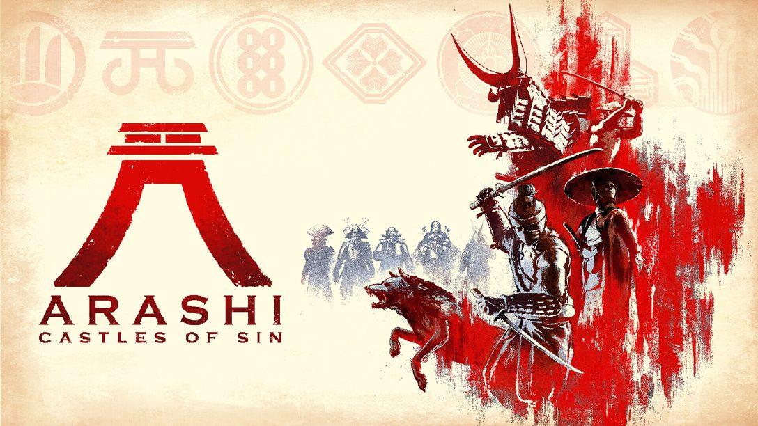 Trasformati in un ninja nel gioco sandbox di azione furtiva Arashi: Castles of Sin