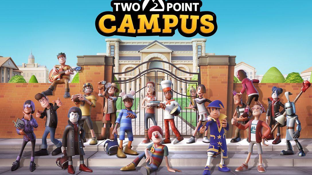 Costruite un'università a modo vostro con Two Point Campus per PS4 e PS5