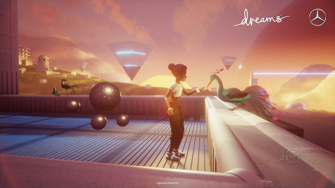 Immaginate il futuro con Dreams e Mercedes-Benz