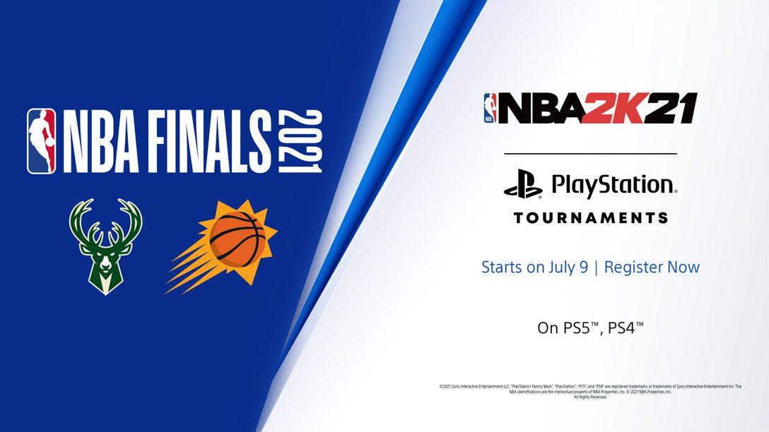 Conquista la gloria nei tornei PlayStation NBA 2K21: Finali NBA
