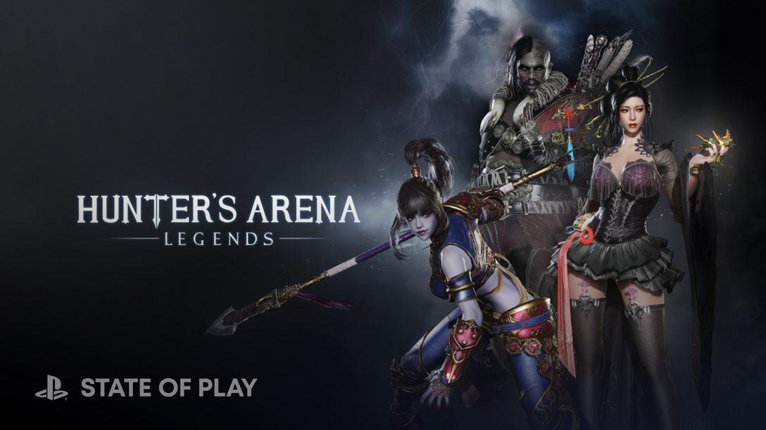 Il battle royale da 30 giocatori di Hunter's Arena, sarà disponibile su PS4 e PS5 dal 3 agosto.