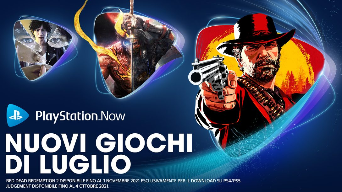 Giochi PlayStation Now di luglio: Red Dead Redemption 2, Nioh 2, Judgment