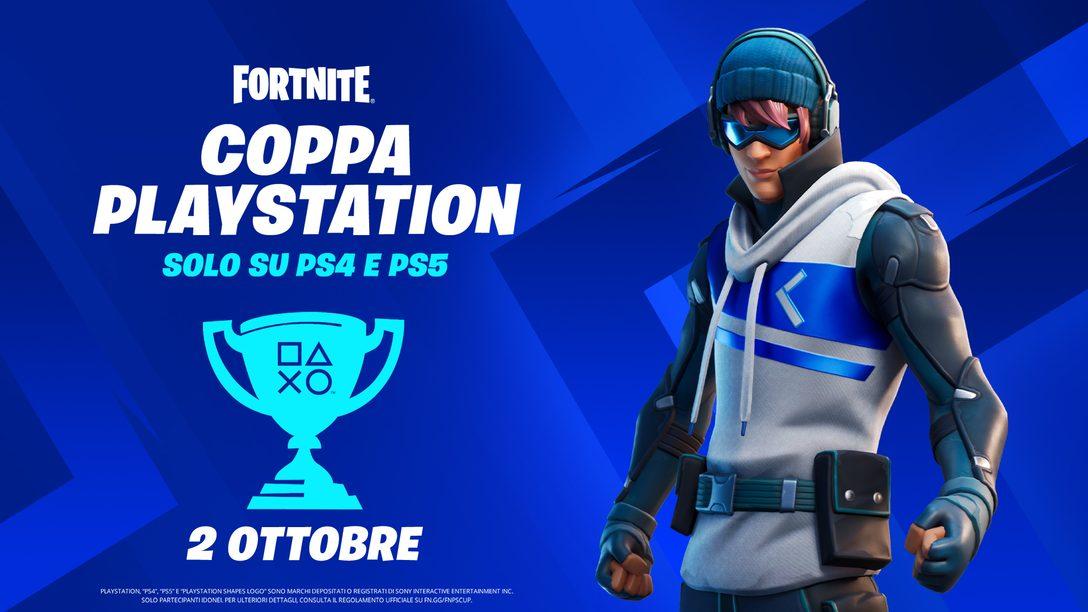 Gareggia nella Fortnite PlayStation Cup per vincere una parte del montepremi globale di 110.000 $