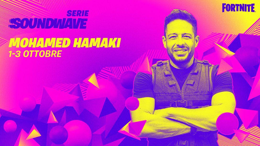 Hamaki prende il centro della scena con la Serie Soundwave di Fortnite!