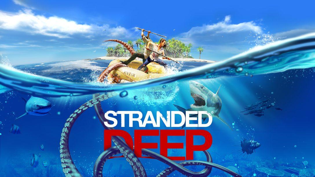Stranded Deep: l'aggiornamento con la modalità cooperativa online disponibile da domani