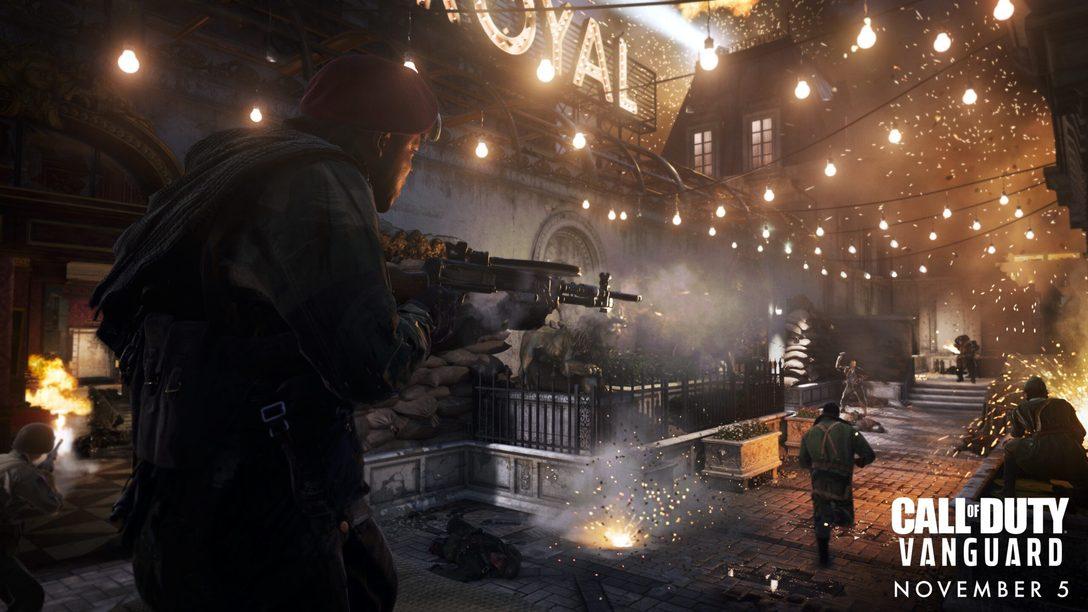 L'esperienza tattile di giocare a Call of Duty: Vanguard per PS5